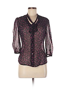 Kate Hill 3/4 Sleeve Blouse Size 8 (Petite)