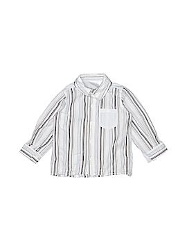 Koala Baby Boutique Long Sleeve Button-Down Shirt Size 12 mo