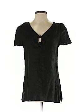 Leona by Lauren Leonard Short Sleeve Blouse Size S