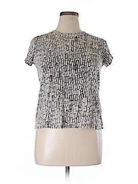 Simply Vera Vera Wang Short Sleeve T-Shirt Size XL (Petite)