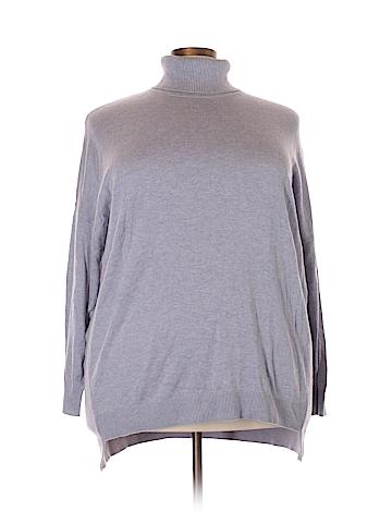 Cj Banks Turtleneck Sweater Size 2X (Plus)