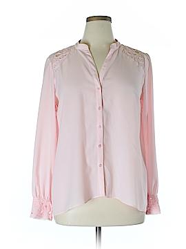 Grace Elements Long Sleeve Blouse Size L