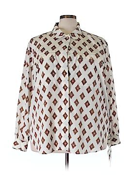 Elisabeth by Liz Claiborne Long Sleeve Blouse Size 22 (Plus)