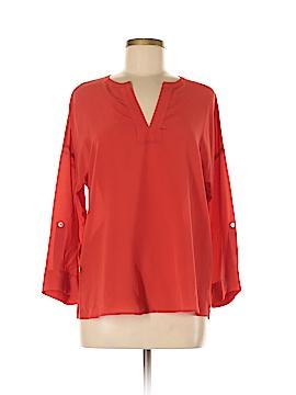 Ellie Kai 3/4 Sleeve Silk Top Size 8