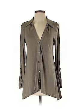 INC International Concepts Long Sleeve Button-Down Shirt Size S