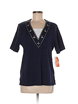 Cathy Daniels Short Sleeve Top Size M