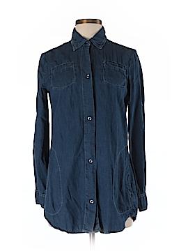 XCVI Long Sleeve Button-Down Shirt Size XS