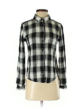 Joe Boxer Long Sleeve Button-Down Shirt Size S