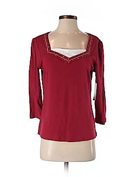 Debbie Morgan 3/4 Sleeve Top Size S