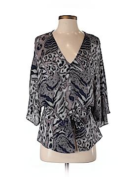 Parker Short Sleeve Silk Top Size S