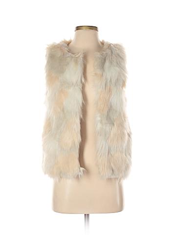Forever 21 Faux Fur Vest Size XS