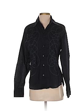 Z.Cavaricci Long Sleeve Button-Down Shirt Size S