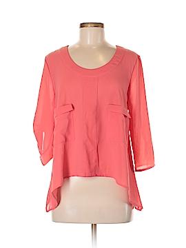Pretty Good 3/4 Sleeve Blouse Size M