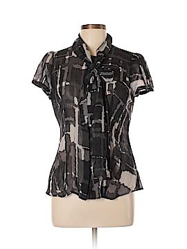 Express Design Studio Short Sleeve Blouse Size L