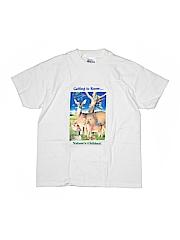 Hanes Boys Short Sleeve T-Shirt Size M (Kids)