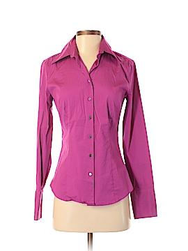Express Design Studio Long Sleeve Button-Down Shirt Size 4