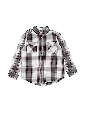 Ruff Hewn Long Sleeve Button-Down Shirt Size S (Kids)
