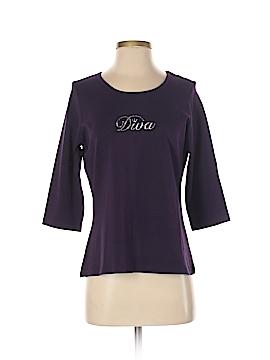CHRISTINE ALEXANDER 3/4 Sleeve T-Shirt Size S