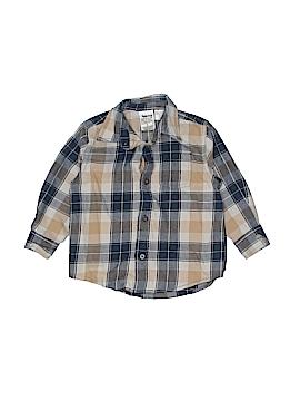 Timberland Long Sleeve Button-Down Shirt Size 2T