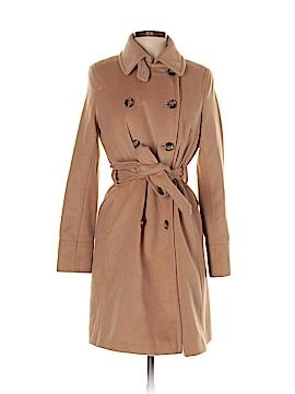 DKNY Wool Coat Size 8 (Petite)