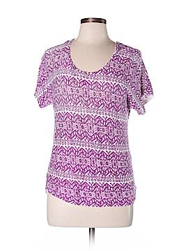 Lord & Taylor Short Sleeve T-Shirt Size L (Petite)