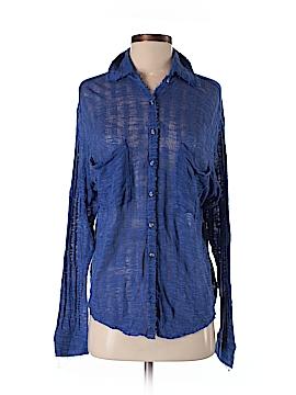 FP BEACH Long Sleeve Button-Down Shirt Size XS
