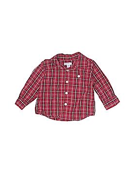 Greendog Long Sleeve Button-Down Shirt Size 12 mo