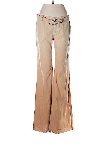 Free People Linen Pants Size 2