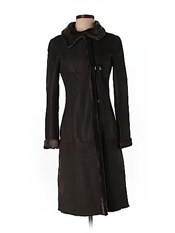 Akris punto Leather Jacket Size 4