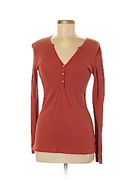 DaftBird Long Sleeve Henley Size M