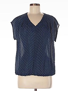 Lands' End Short Sleeve Blouse Size 8 (Petite)