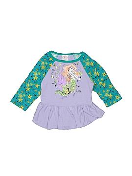 Disney Princess 3/4 Sleeve Top Size 6 - 6X