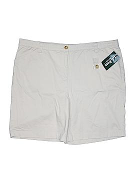L.L.Bean Factory Store Khaki Shorts Size 24 (Plus)