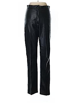 Vera Pelle Faux Leather Pants Size M