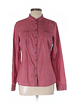 Canyon River Blues Long Sleeve Button-Down Shirt Size L
