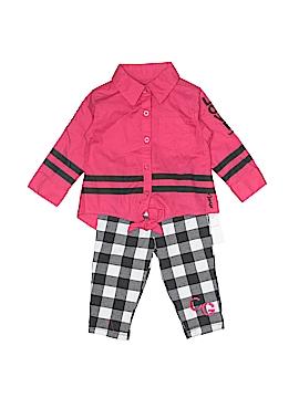 Coogi Long Sleeve Button-Down Shirt Size 6-9 mo
