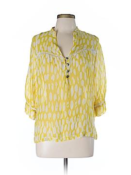 Dolan 3/4 Sleeve Silk Top Size M