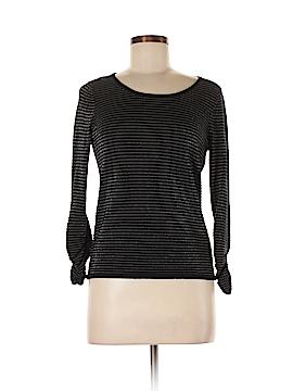 Belford Long Sleeve Silk Top Size M
