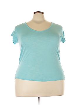 CALVIN KLEIN JEANS Short Sleeve Blouse Size XL
