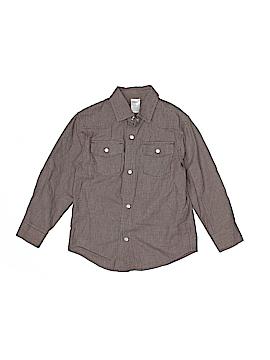 Gymboree 3/4 Sleeve Button-Down Shirt Size 4