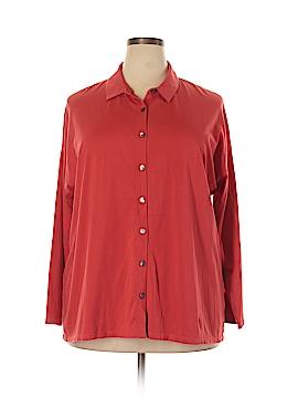 J.jill Long Sleeve Button-Down Shirt Size 2X (Plus)