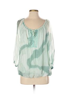 Lola 3/4 Sleeve Silk Top Size S