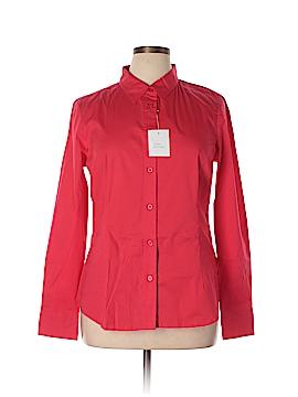 Moda International Long Sleeve Button-Down Shirt Size XL