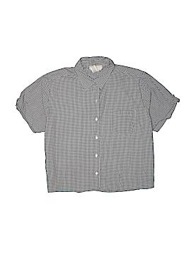 Cherokee Short Sleeve Button-Down Shirt Size XL