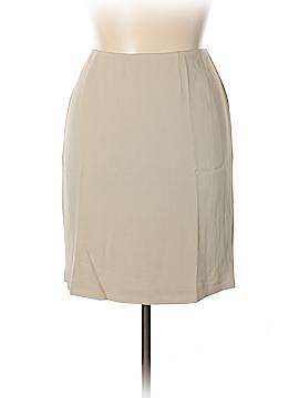Ellen Tracy Silk Skirt Size 16