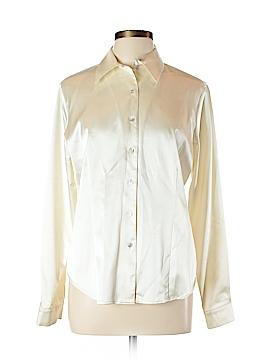 Hillard & Hanson Long Sleeve Blouse Size L