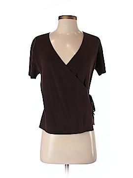 Petite Sophisticate Short Sleeve Top Size P