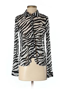 INC International Concepts Long Sleeve Button-Down Shirt Size XS