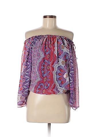 Iz Byer Long Sleeve Blouse Size XL