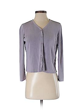 Petite Sophisticate Silk Cardigan Size S